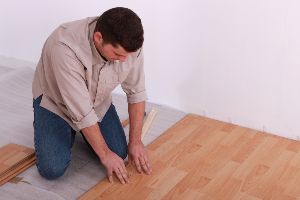 Fixing Scratched Floorboards