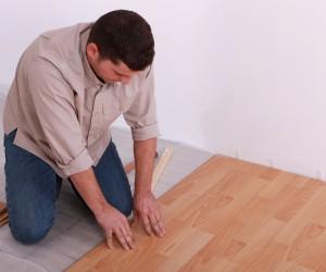Fixing floorboards