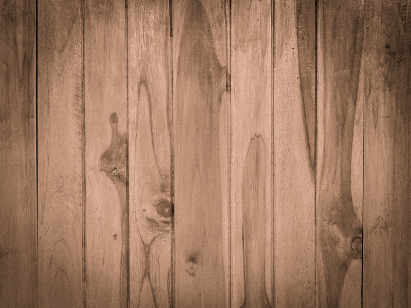 Wood panel plank texture background, image used retro vintage filter